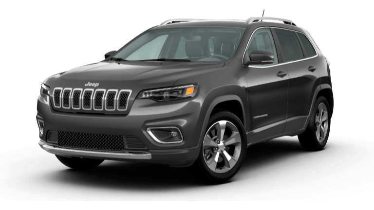 A grey 2020 Jeep Cherokee Limited
