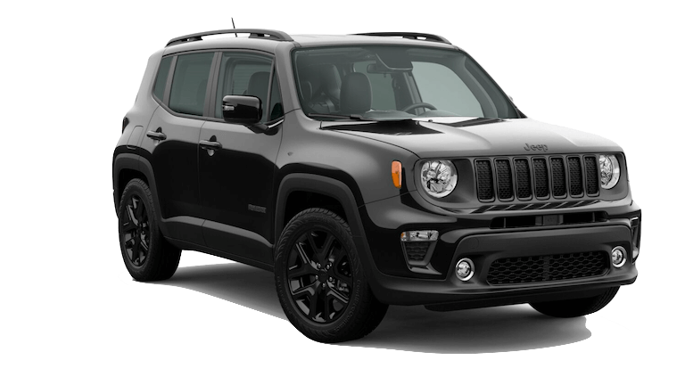 A black 2020 Jeep Renegade Altitude