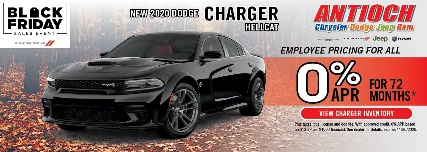2020 Dodge Charger Hellcat | 0% APR x 72 Mos. | Antioch, IL