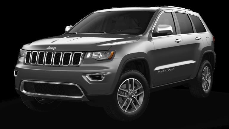 2021 Jeep Grand Cherokee Limited Granite Silver Metallic