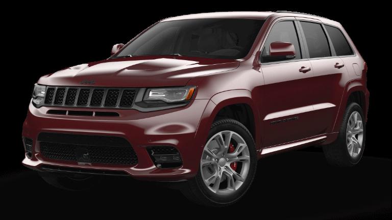 2021 Jeep Grand Cherokee SRT Velvet Red