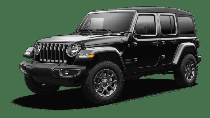 2021 Jeep Wrangler 80th Anniversary - Black