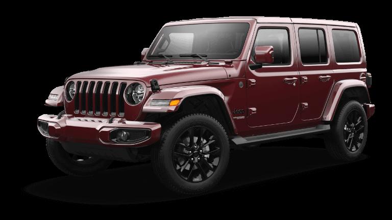 2021 Jeep Wrangler Freedom - Snazzberry