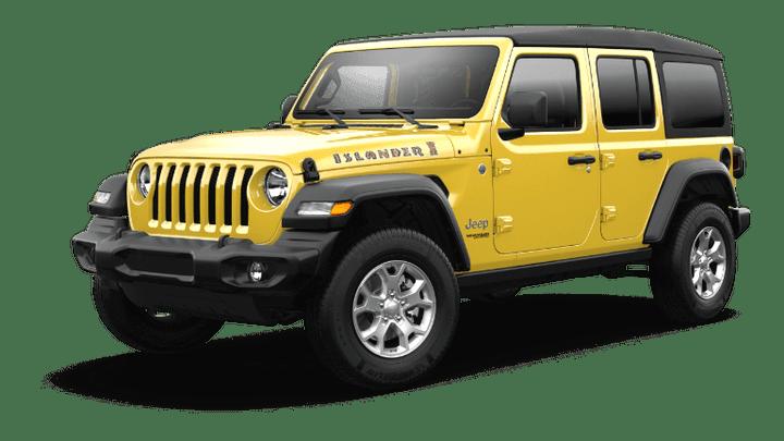 2021 Jeep Wrangler Islander - Hellayella