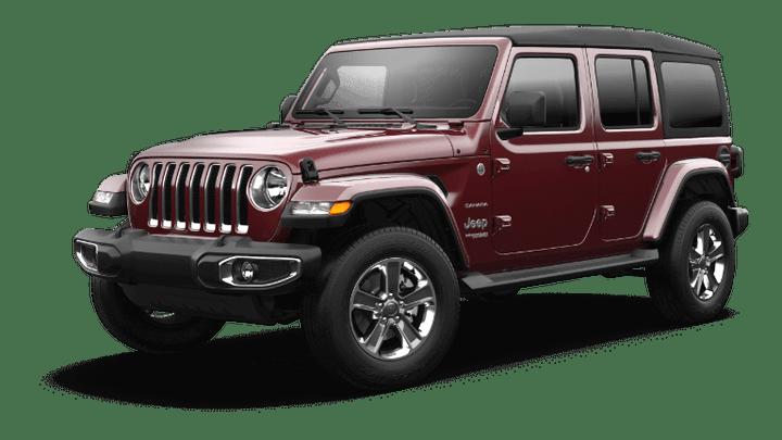 2021 Jeep Wrangler Sahara - Snazzberry