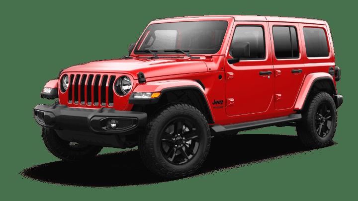 2021 Jeep Wrangler Sahara Altitude - Firecracker Red