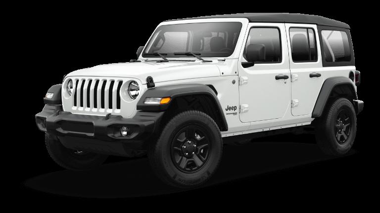 2021 Jeep Wrangler Sport - Bright White