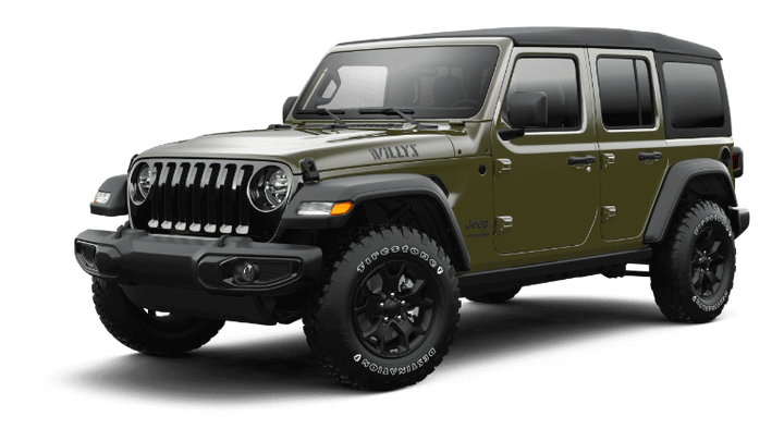 2021 Jeep Wrangler Willys - Sarge Green