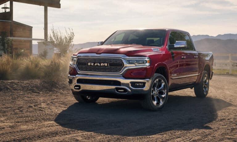 2021 Ram 1500 exterior ranch