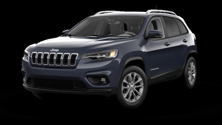 2021 Jeep Cherokee Latitude Lux - Slate Blue