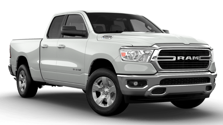 2021 Ram 1500 Big Horn - Bright White