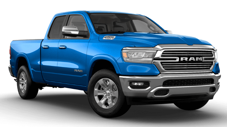 2021 Ram 1500 Laramie - Hydro Blue