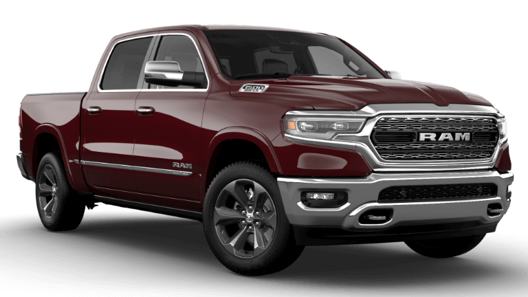 2021 Ram 1500 Limited - Delmonico Red