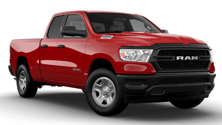 2021 Ram 1500 Tradesman - Flame Red