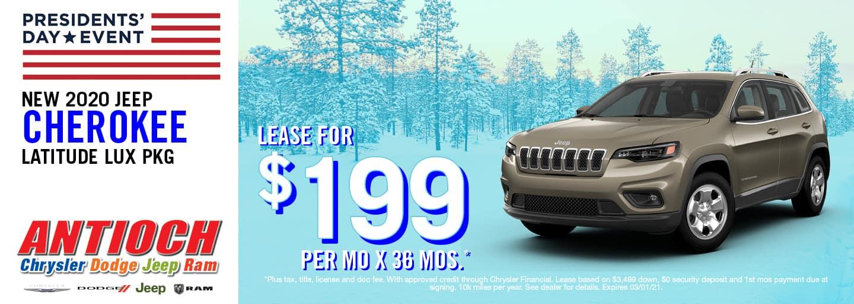 2021 Jeep Cherokee Special Offer | Antioch CDJR