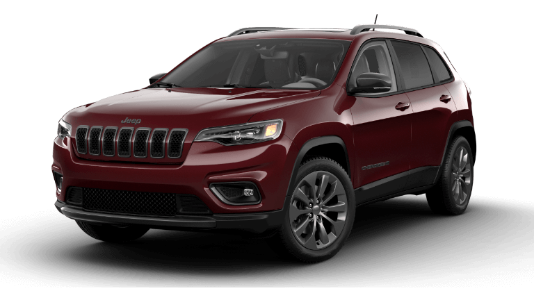 2021 Jeep Cherokee 80th Anniversary Velvet Red