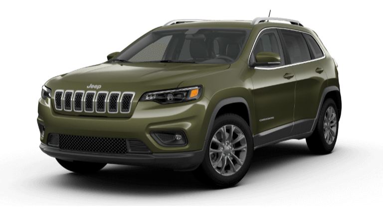 2021 Jeep Cherokee Latitude Plus Olive Green