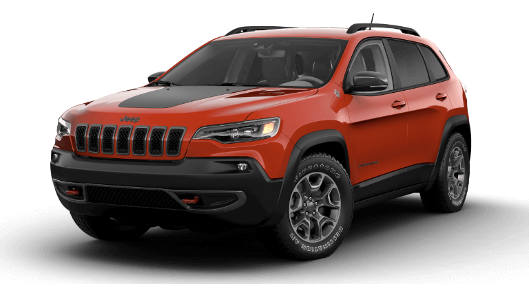 2021 Jeep Cherokee Trailhawk Spitfire Orange