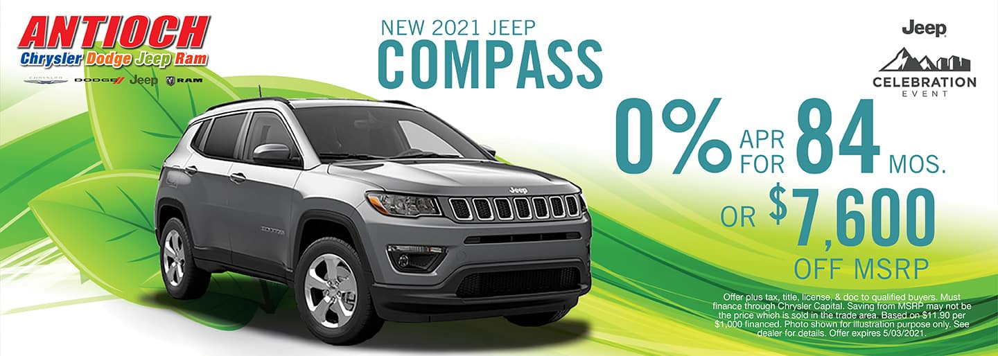 2021 Jeep Compass Lease Offer | Antioch