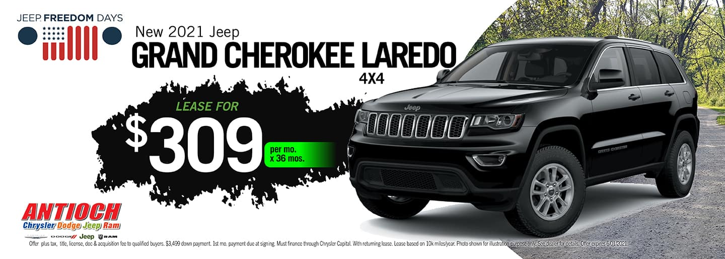 2021 Grand Cherokee Special Offer | Antioch CDJR