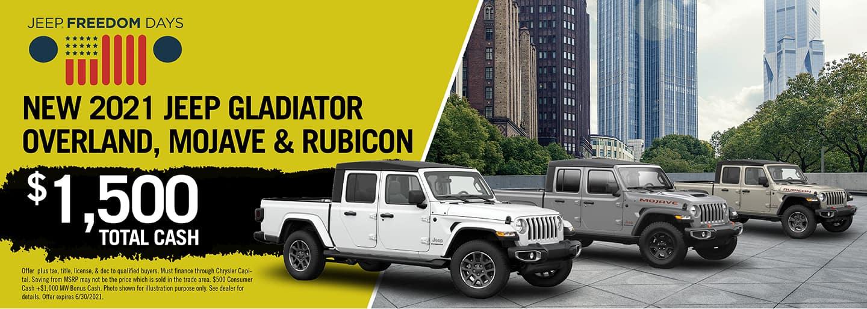 $1500 Off Jeep Models
