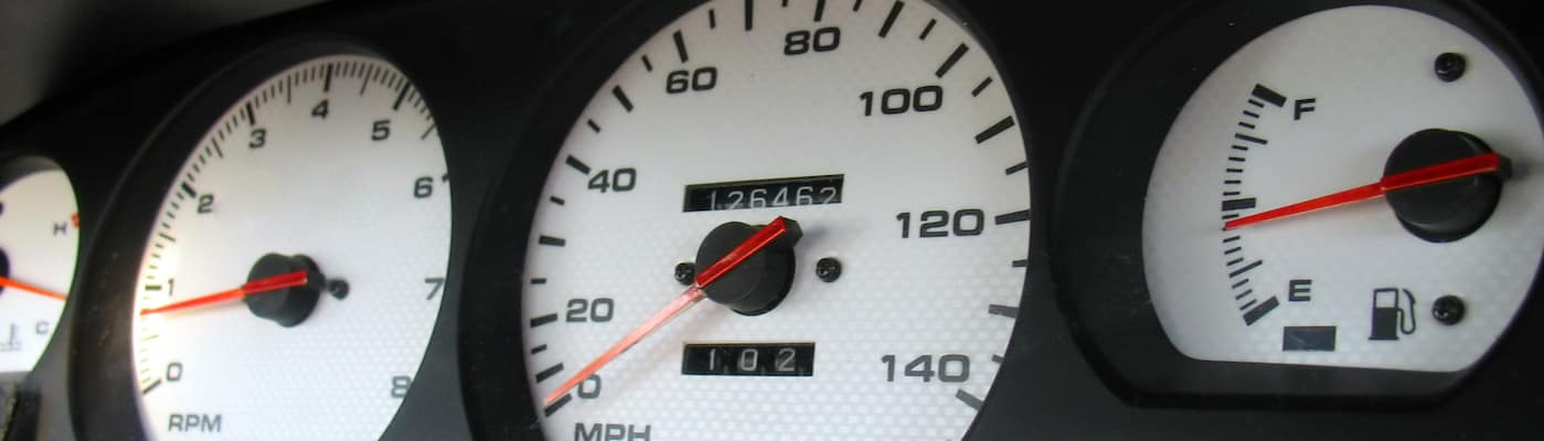 Closeup of Dash Gauges