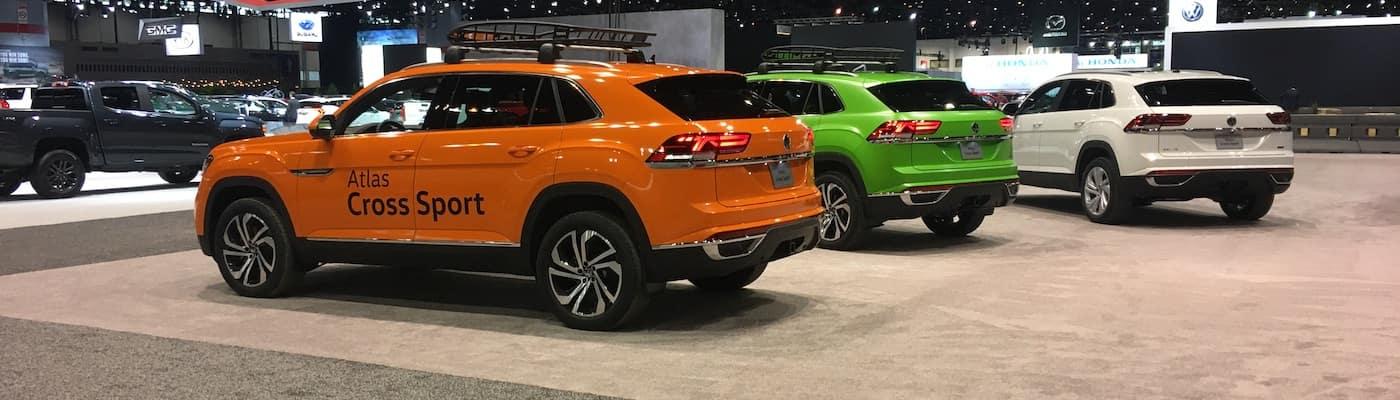 Atlas Cross Sport models