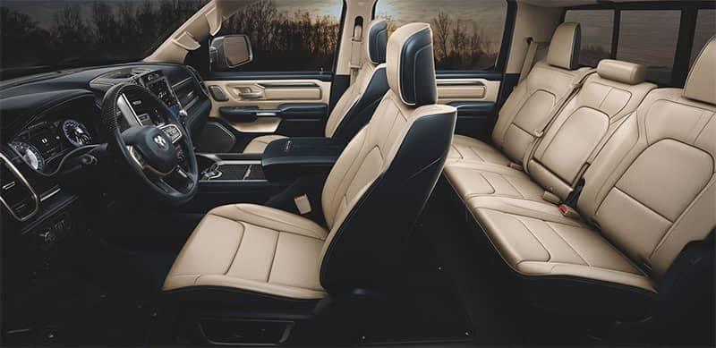 Ram 1500 Interior Seating