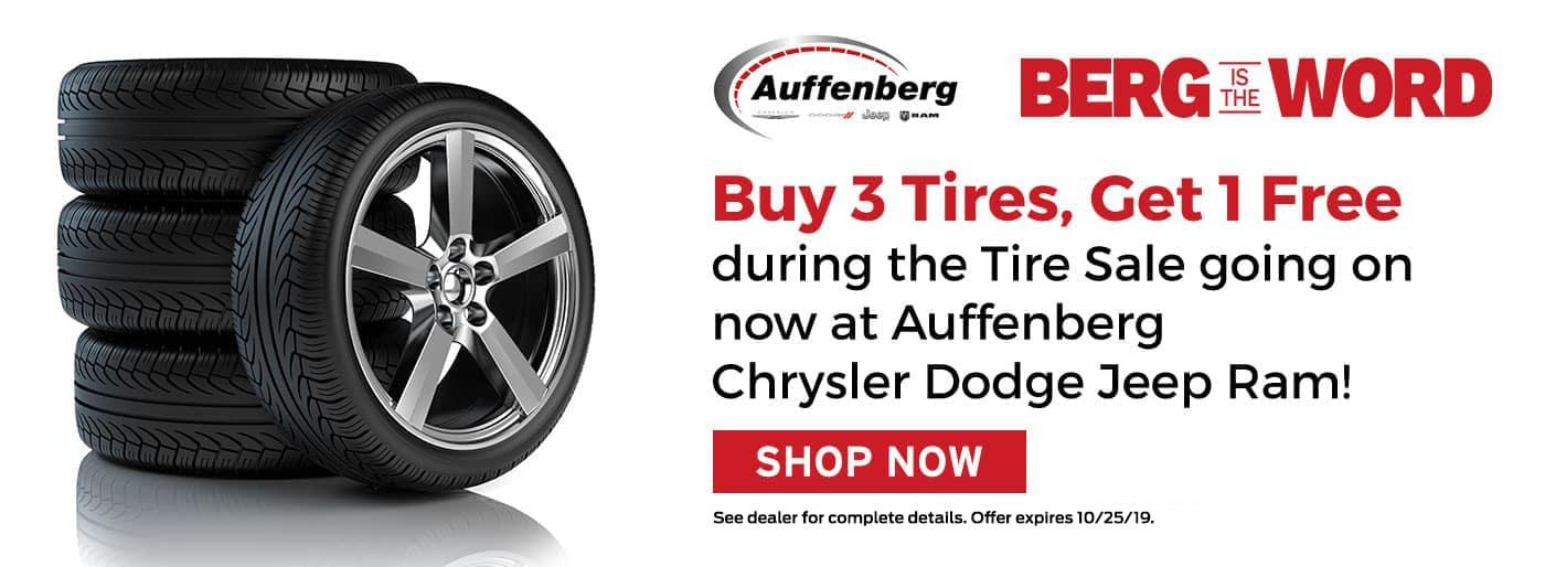 Auffenberg Tire Sale