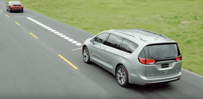 2018 Chrysler Pacifica Safety