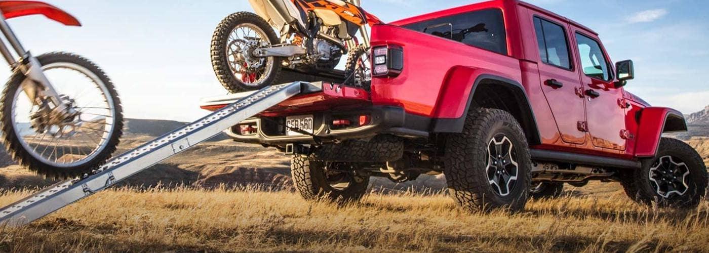 2020 Jeep Gladiator Dirt Bikes