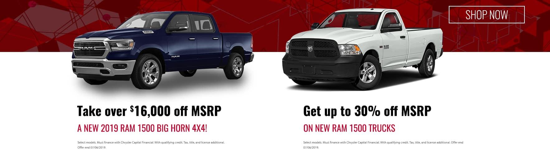 Ram 1500 Offers