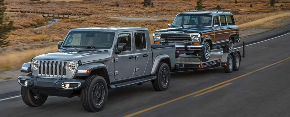 2020 Jeep Gladiator Towing a Lesser Vehicle