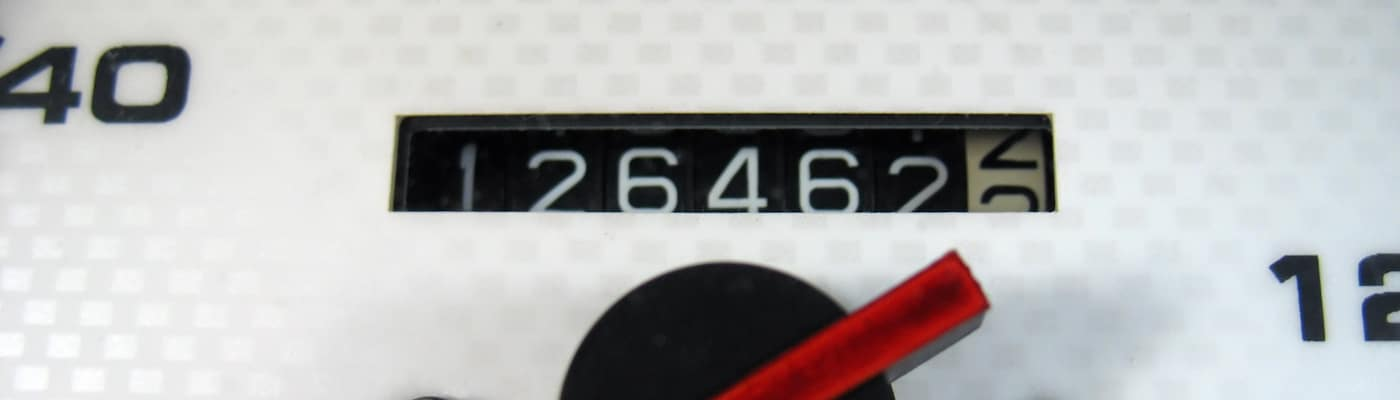 Odometer Super Close Up