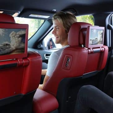 2020 Dodge Durango Rear Entertainment