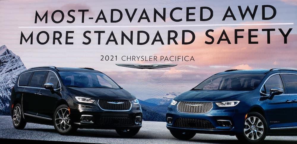 2021 Chrysler Pacificas Chicago Auto Show