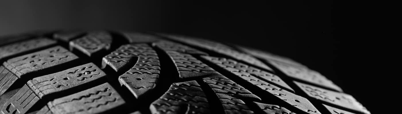Closeup of Tire Tread