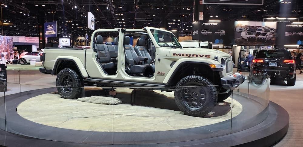 Jeep Gladiator Mojave Desert Rated