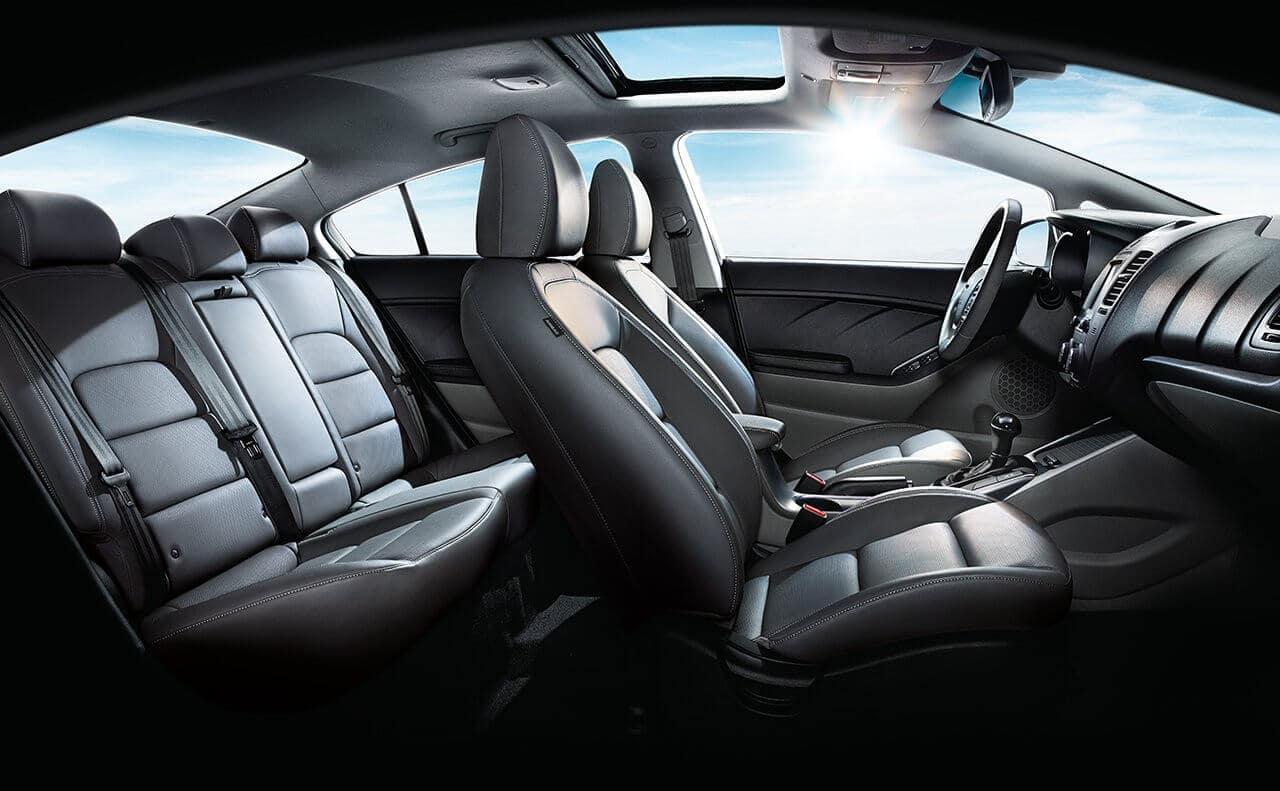 2018 Kia Forte Seats