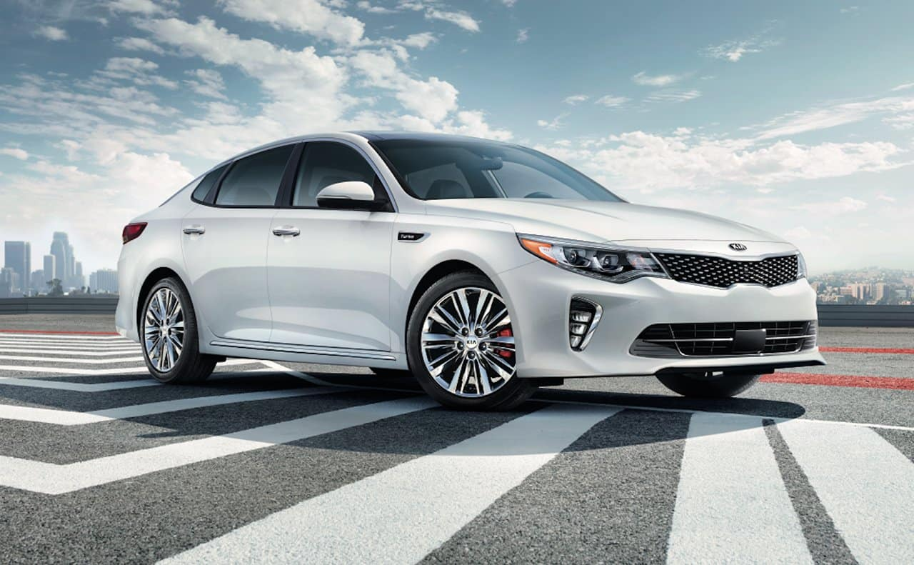 2018 Kia Optima White