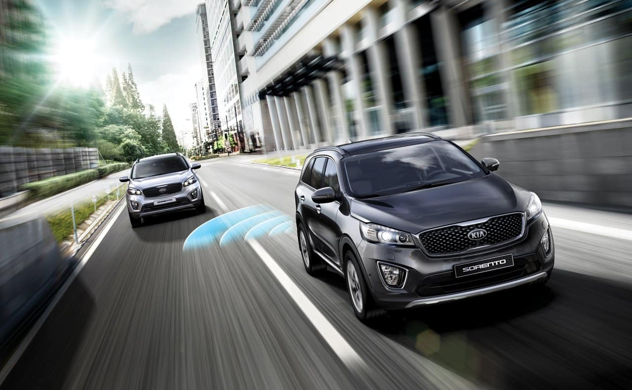 2018 Kia Sorento Safety