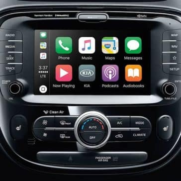 2019 Kia Soul Touchscreen