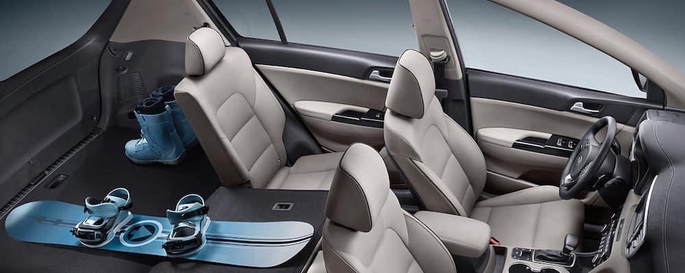 2019 Kia Sportage Interior Cargo