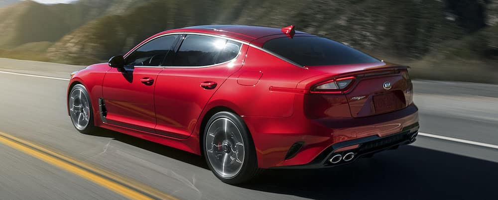 2019 Kia Stinger on Highway