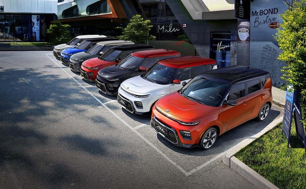 2020 Kia Souls Parked
