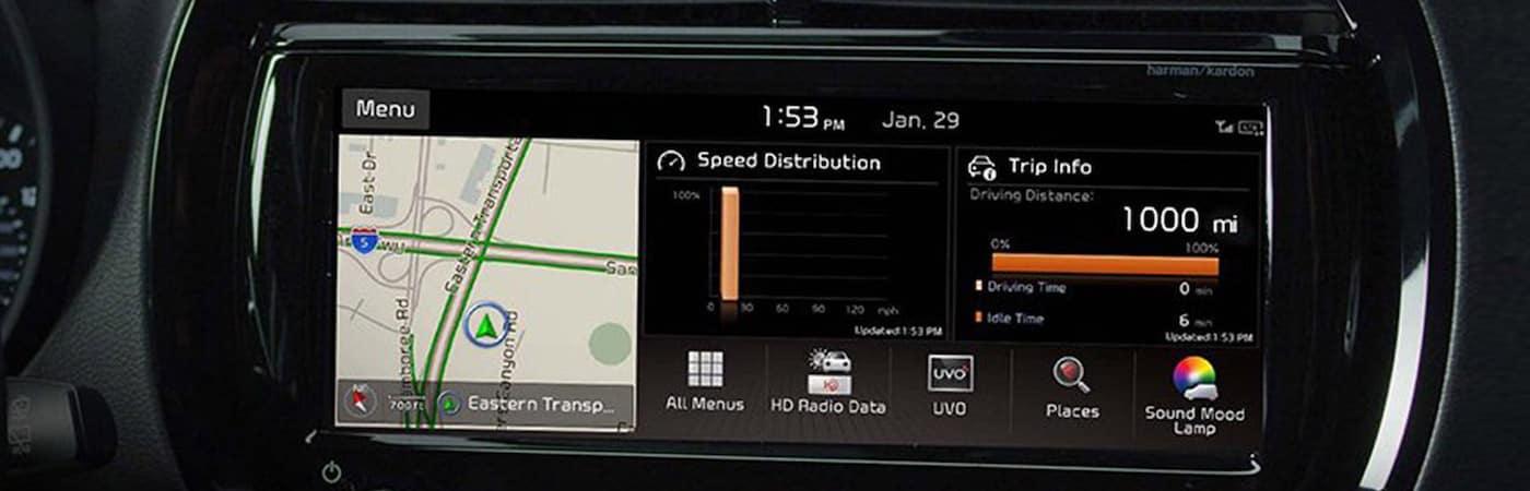 2020 Kia Soul Touchscreen
