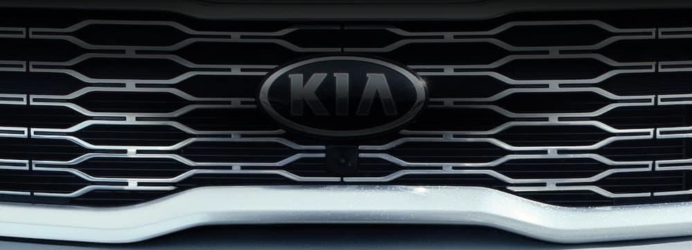 Kia Logo on Grille