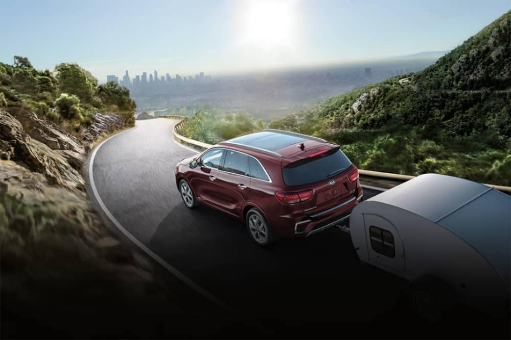 2020 Kia Sorento Towing Trailer