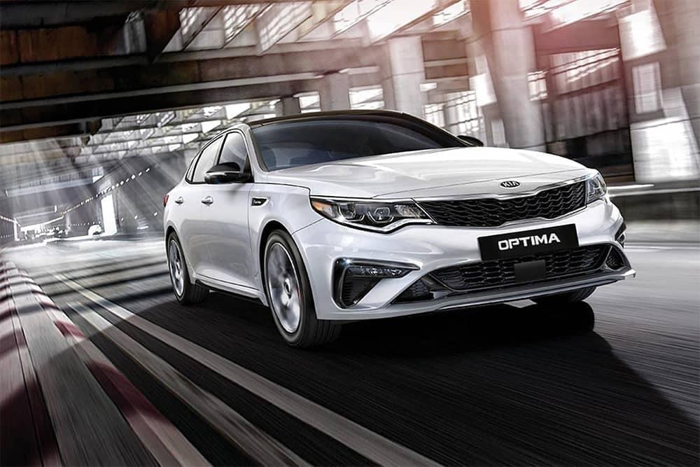 2020 Kia Optima Driving