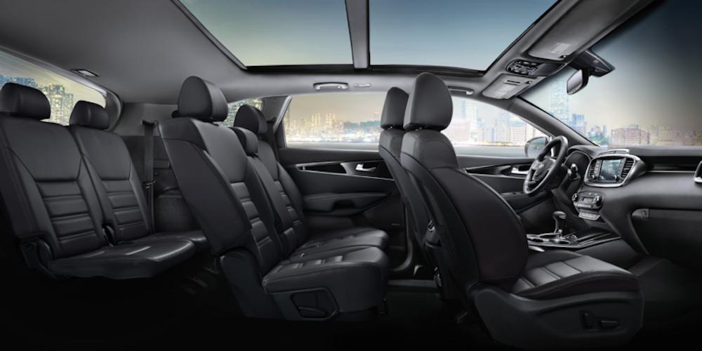 2020 Kia Sorento Interior in Profile